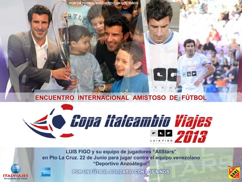 Luis Figo en Venezuela (Copa Italcambio Viajes) 4
