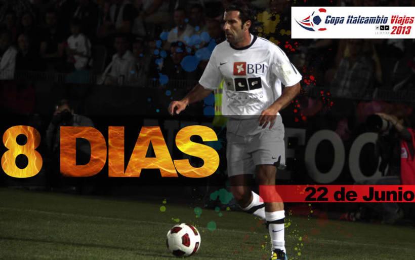 Luis Figo en Venezuela (Copa Italcambio Viajes) 7