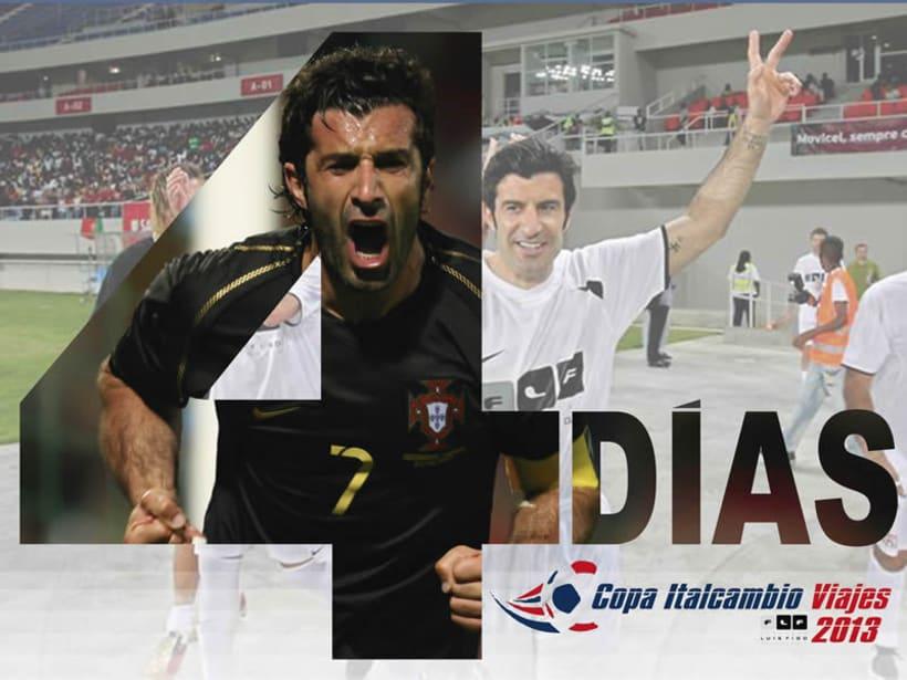 Luis Figo en Venezuela (Copa Italcambio Viajes) 8
