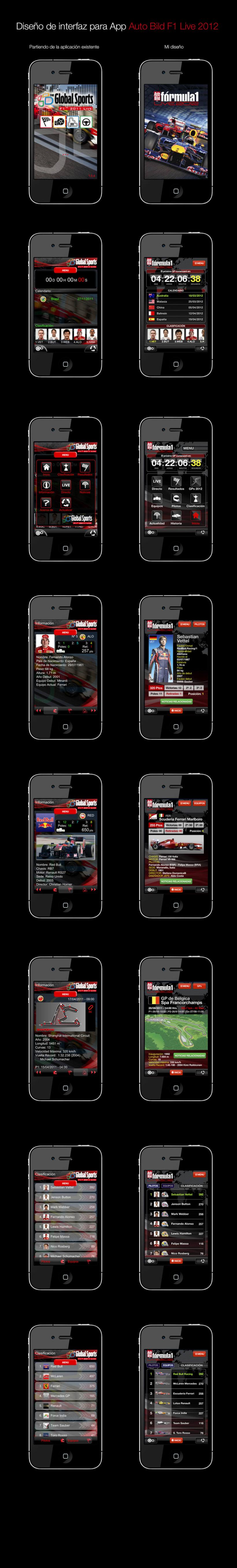 App Auto Bild F1 Live 2