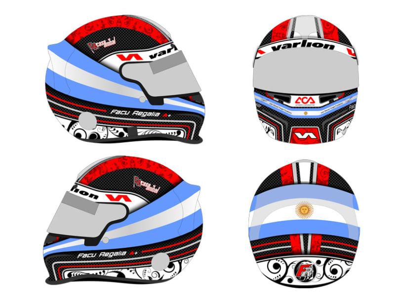 Diseño Casco Formula 6