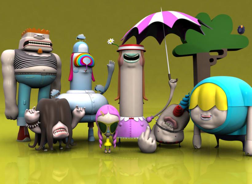 3D Characters . Vol I 2