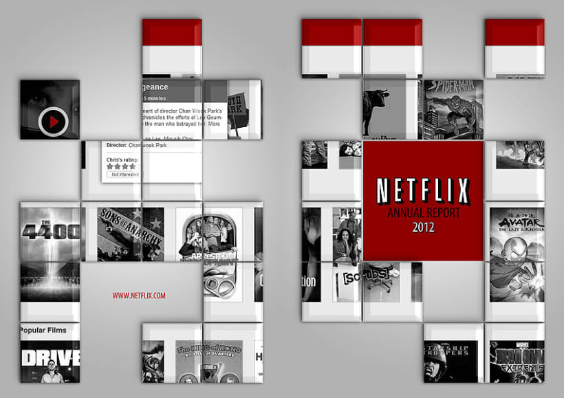 Netflix - Annual Report 1