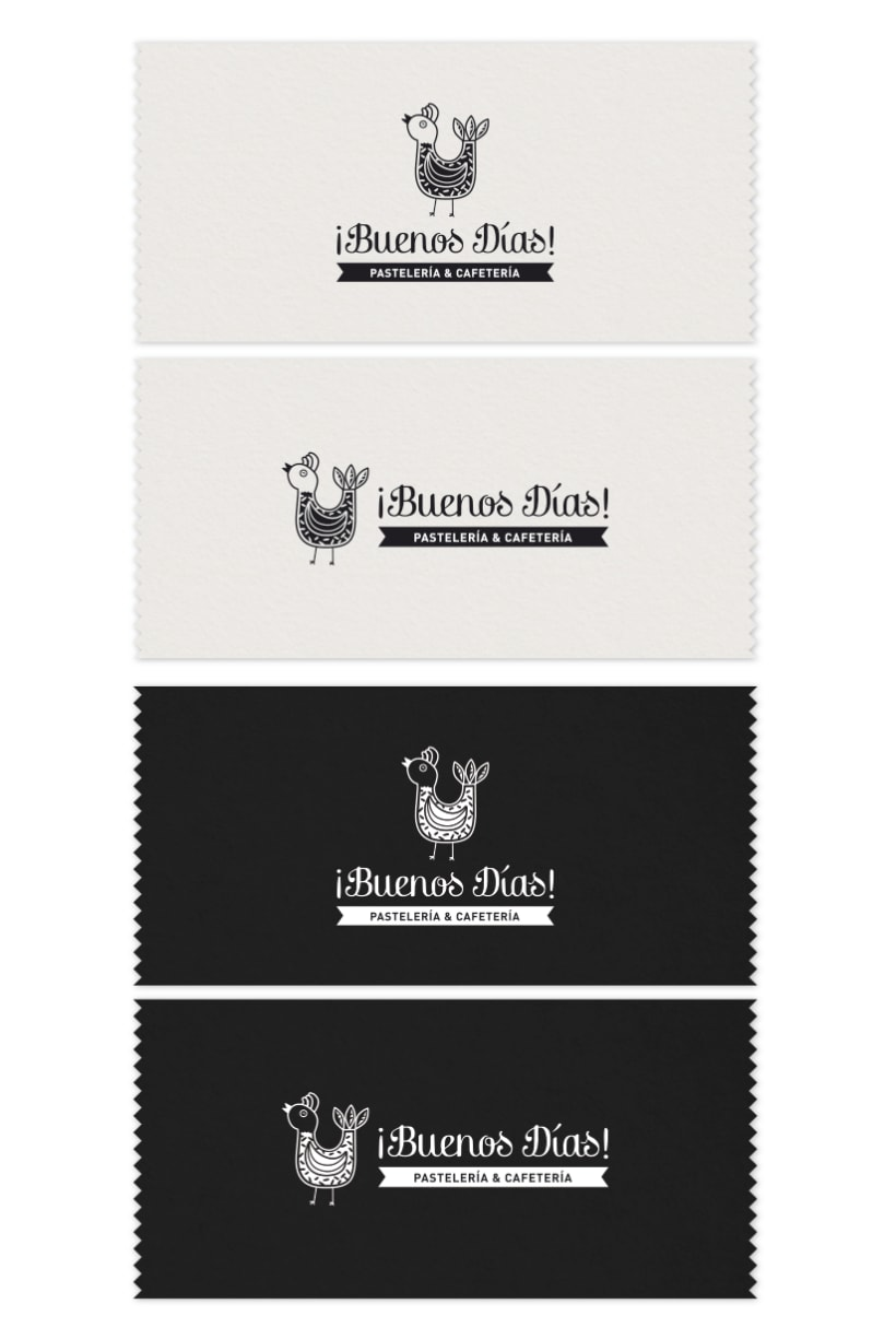 BUENOS DÍAS · Brand Stationery 1