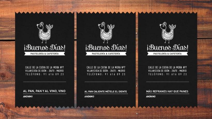 BUENOS DÍAS · Brand Stationery 2