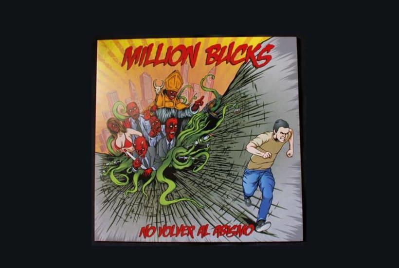 Million Bucks.No Volver al Abismo | Ilustración de Portada 10