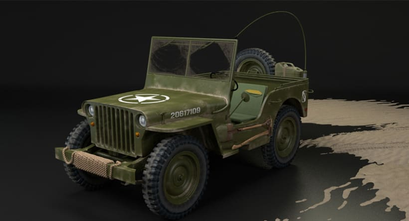 Willys MB US Army Jeep 3
