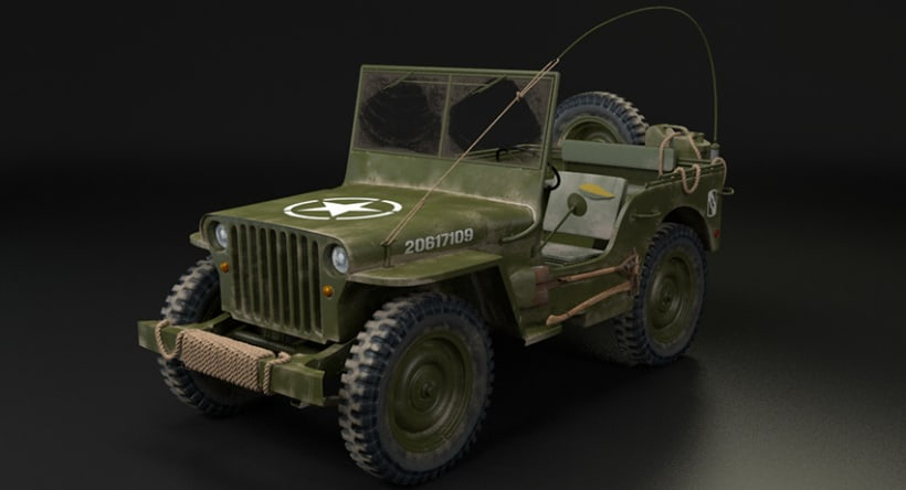 Willys MB US Army Jeep 4