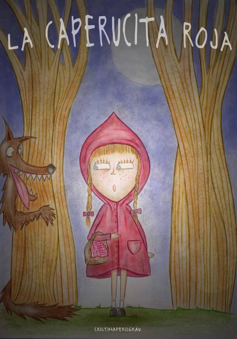 posible portada de Caperucita Roja 1