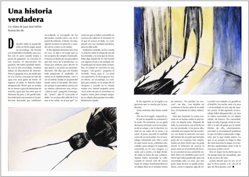 relato, una historia verdadera, de Juan José Millás 1