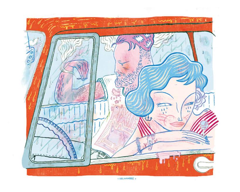 HUMO (Libro ilustrado) Del Hambre dibuja y 16 autores escriben. Publicación: MARZO 2014 8