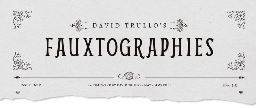 FAUXTOGRAPHIES · Art Exhibition Catalogue  0