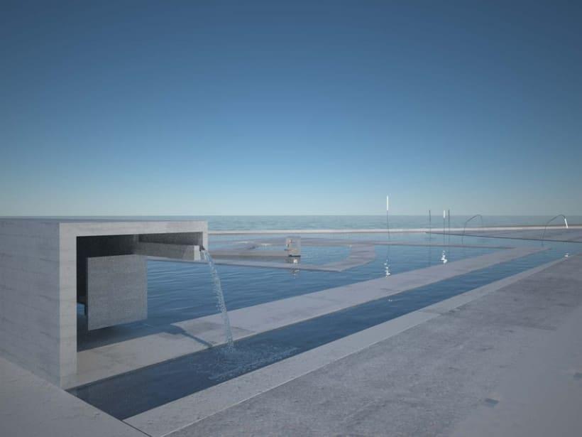 concurso piscina exterior en sada 2008 domestika