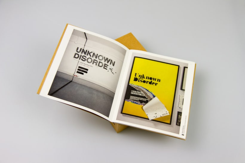 UNKNOWN DISORDER / OFFF BOOK 2012 2