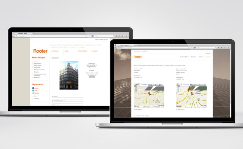 Restyling web Rooter 12