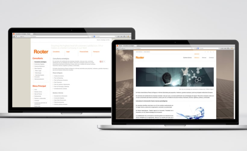 Restyling web Rooter 10