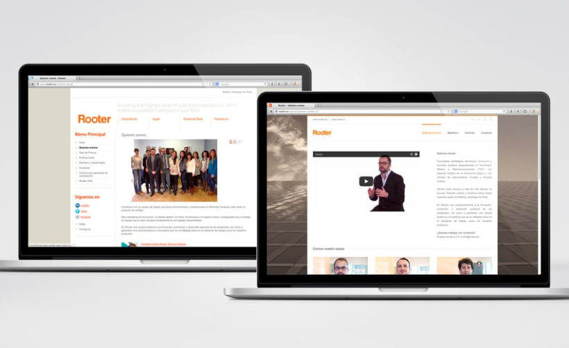 Restyling web Rooter 6