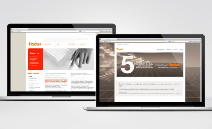 Restyling web Rooter 4
