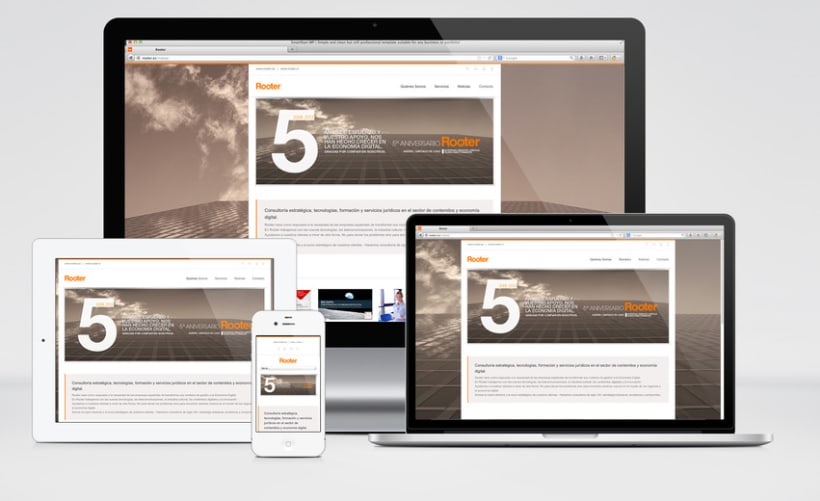 Restyling web Rooter 2