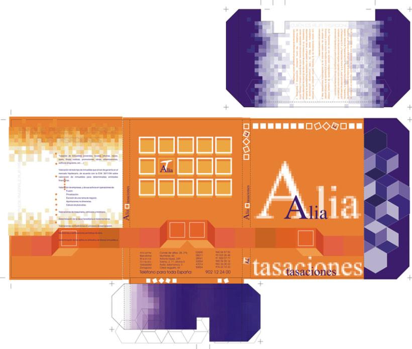 Diseño carpeta Alia Tasaciones 0