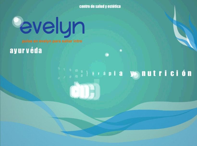 Diseño y creación web Evelyn (Centro de estética). 0