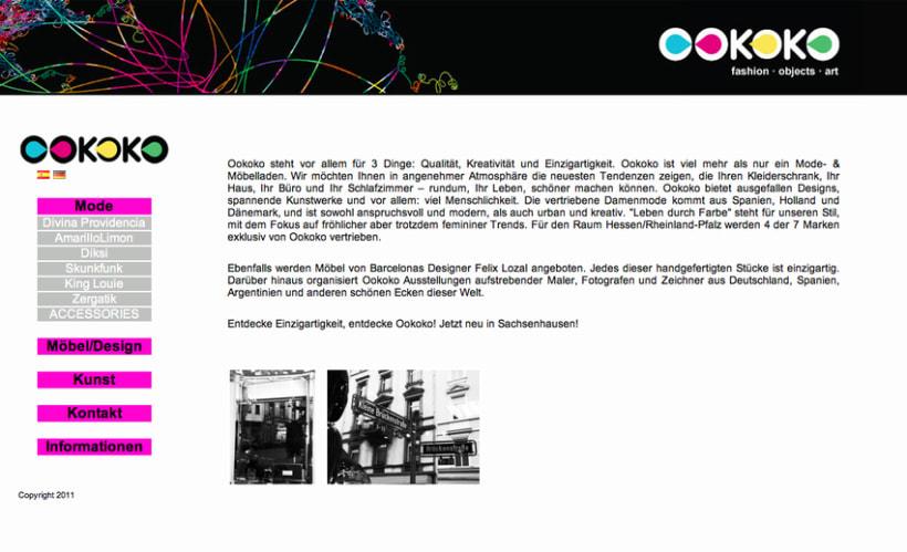 Diseño y creación web Ookoko 2