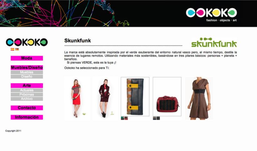 Diseño y creación web Ookoko 1