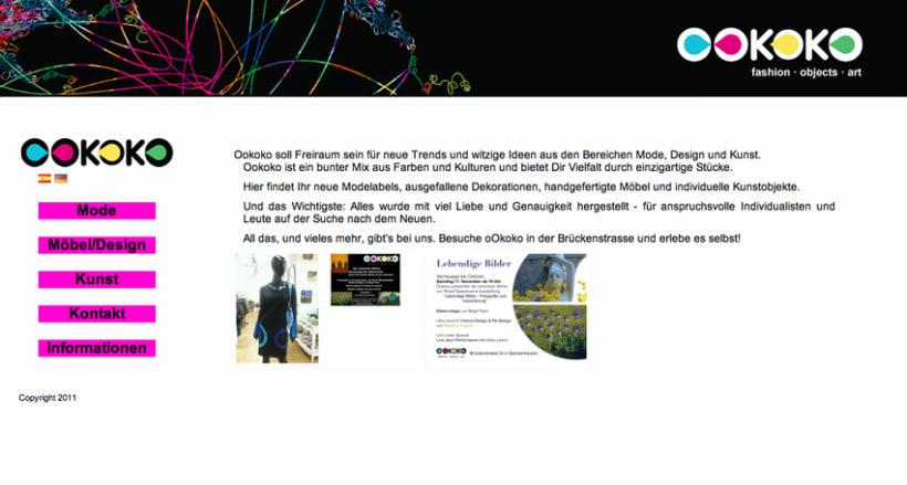 Diseño y creación web Ookoko 0