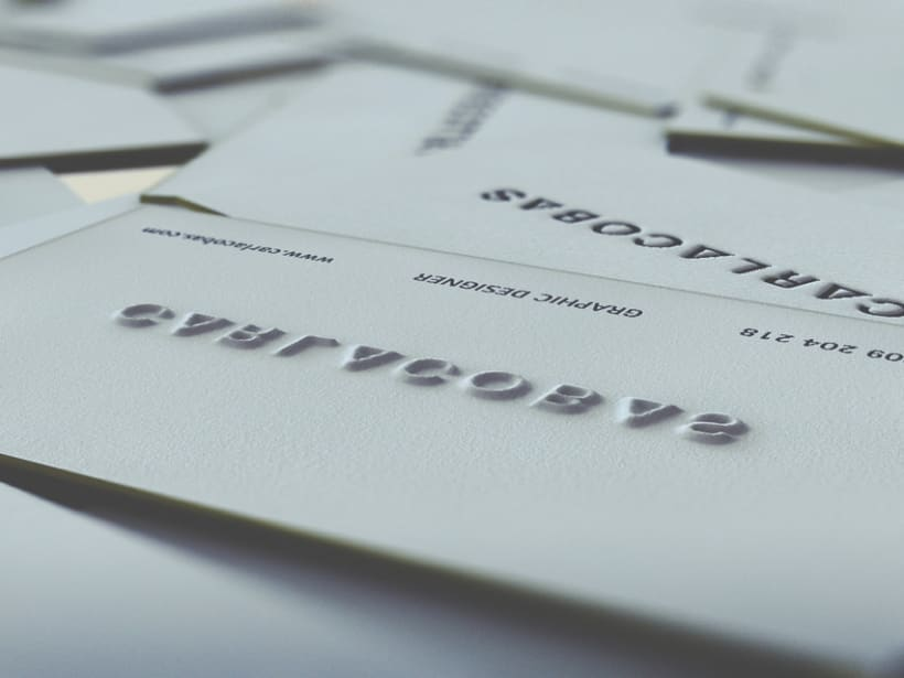 self promotion · business card 3