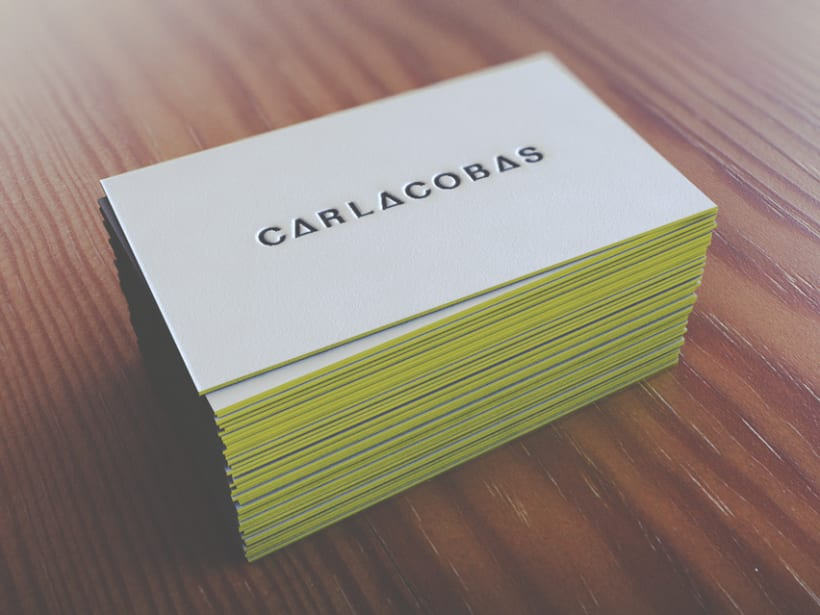 self promotion · business card 4