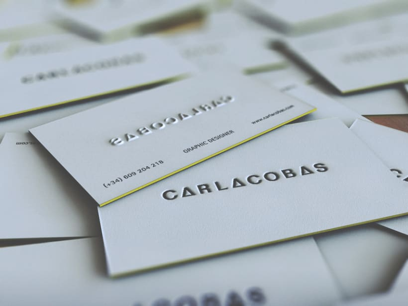 self promotion · business card 5