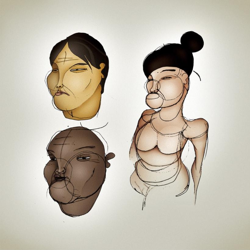 Ilustración -Trazos- 3