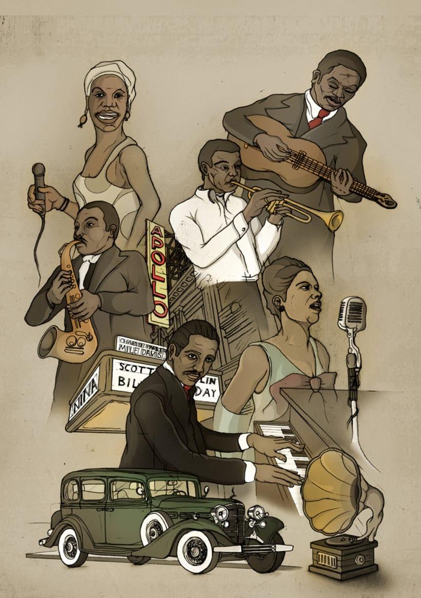 Ilustración -Music- 2