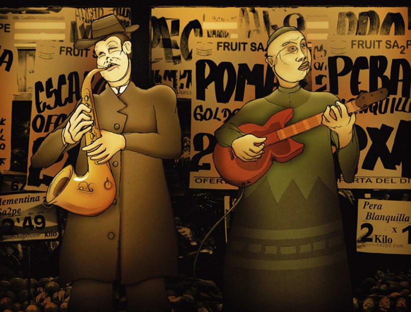 Ilustración -Music- 1