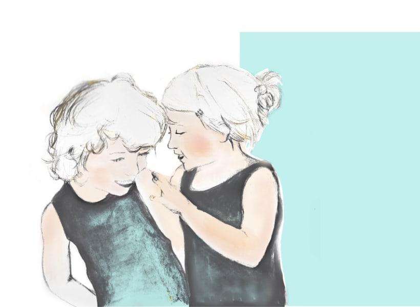 abrazos, risas, juegos y un beso 1