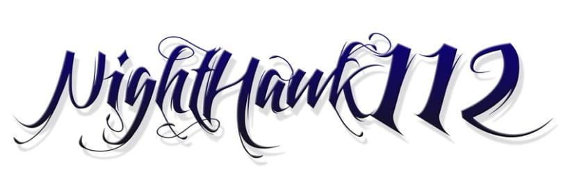 Logotipo Nighthawk 112 3