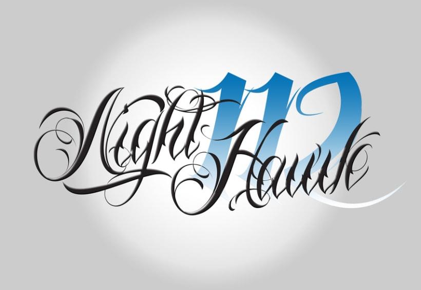 Logotipo Nighthawk 112 2