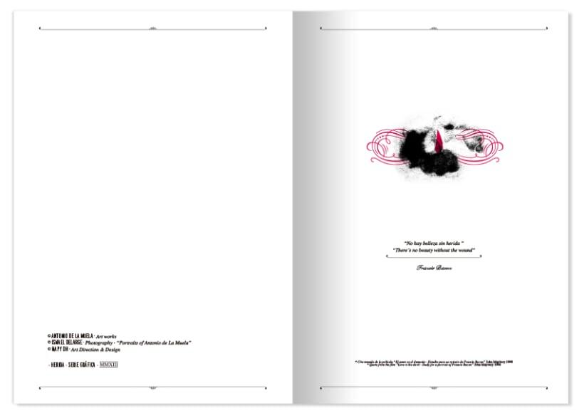 HERIDA · Artist Portfolio Design 3