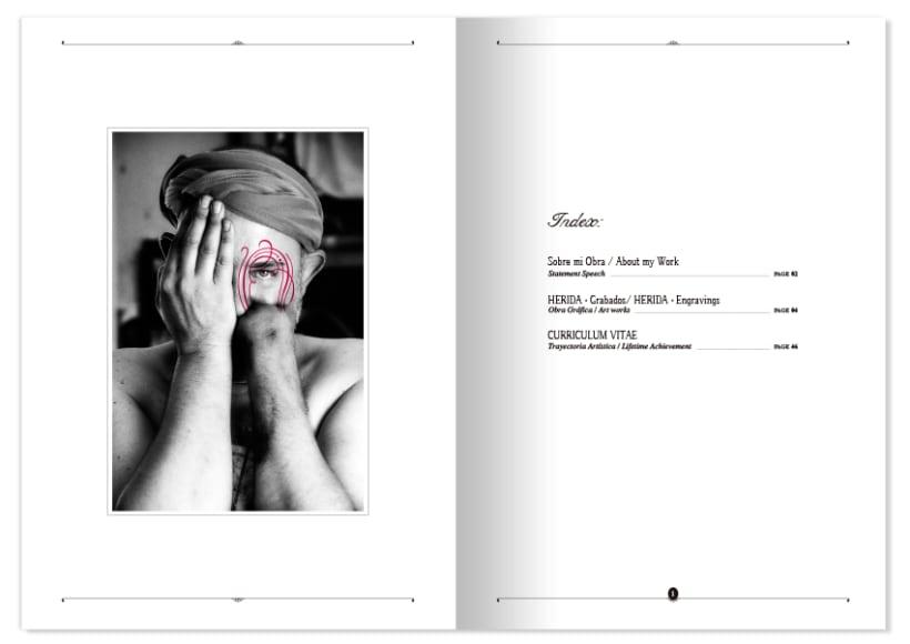 HERIDA · Artist Portfolio Design 4