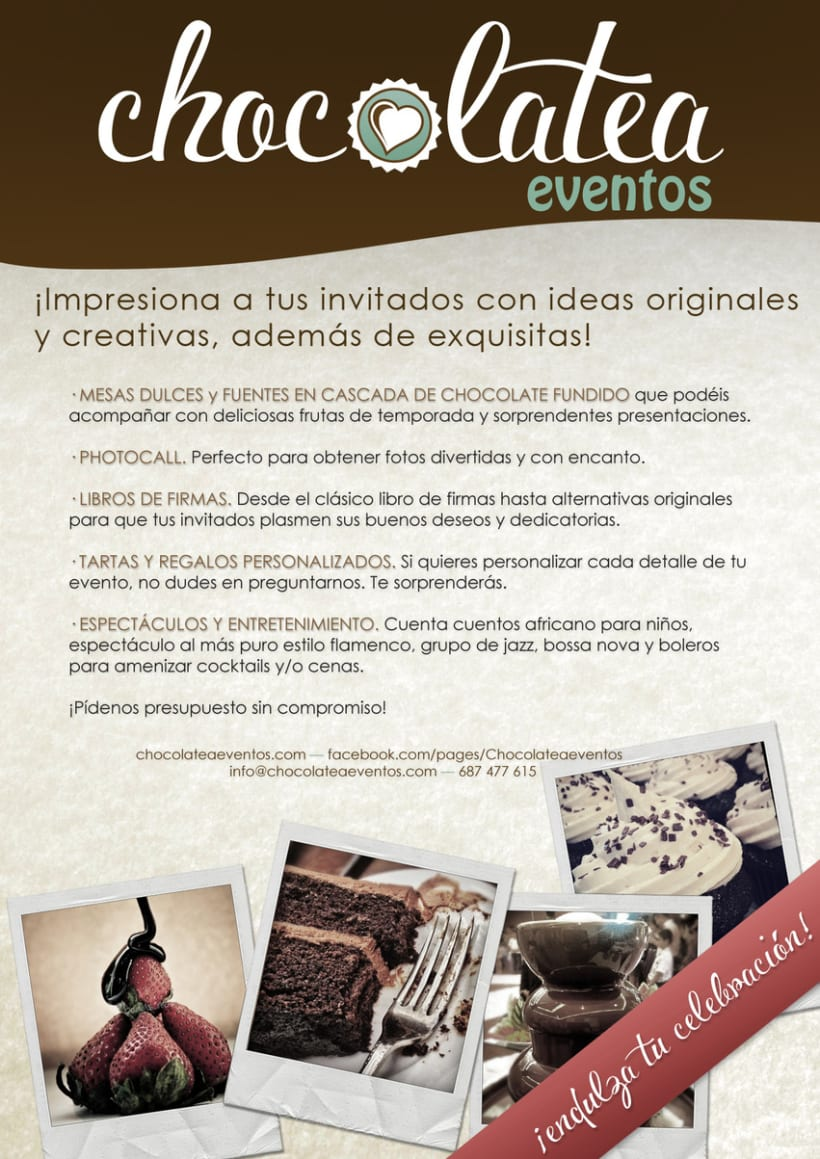 Chocolatea Eventos - Branding 3