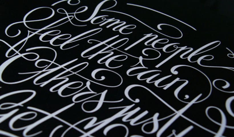 Some people calligraphy 2