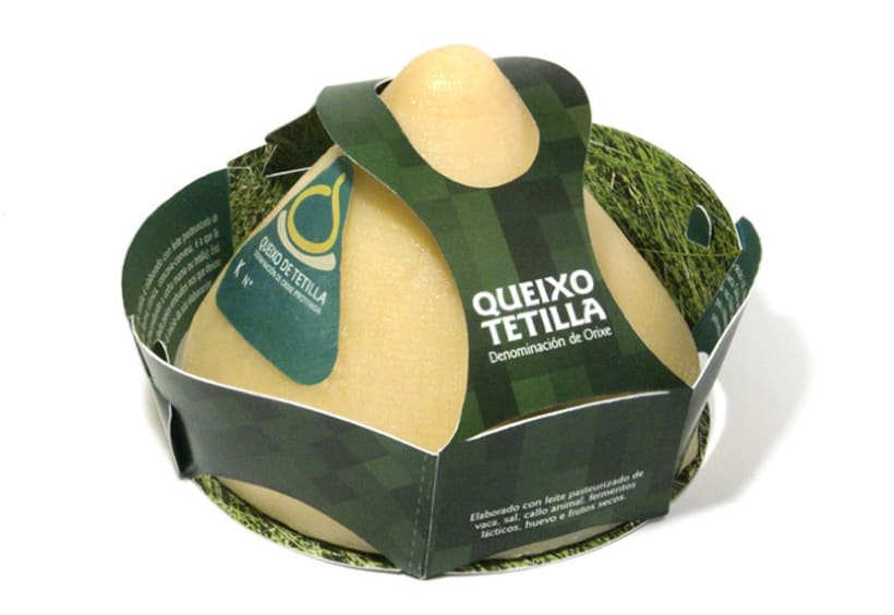 Packaging Queso de Tetilla 1