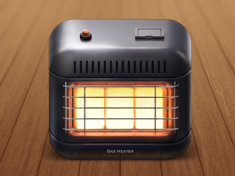 Gas Heater iOS Icon 1