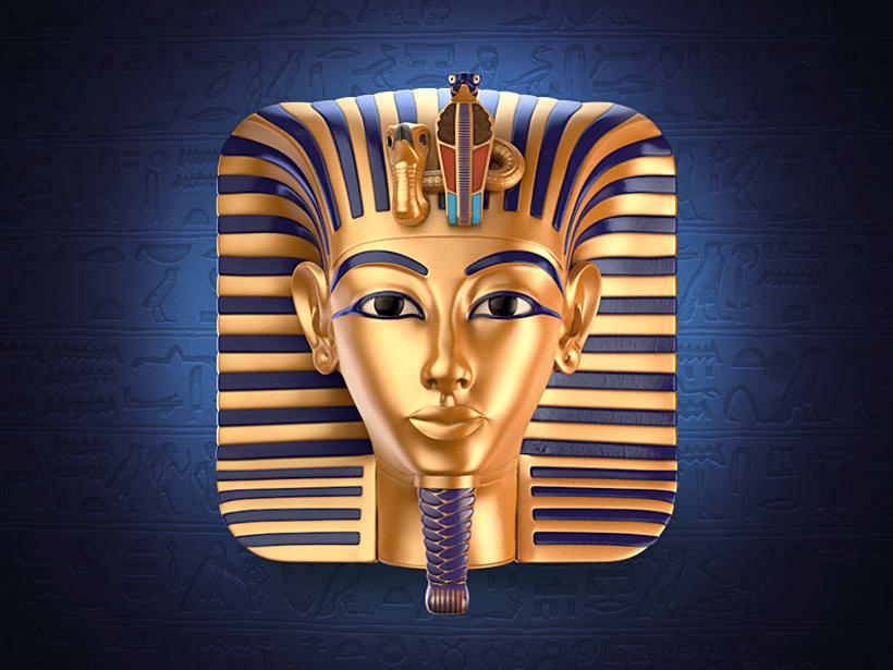 Tutankhamun Mask Icon 1