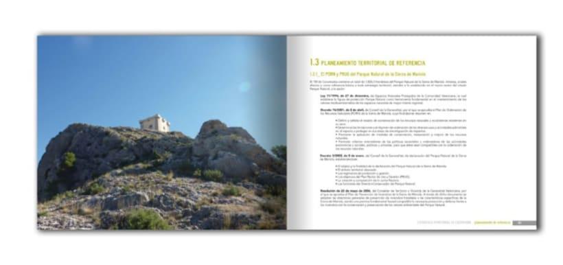 Diseño y maquetación del libro Estrategia Territorial de Cocentaina 1