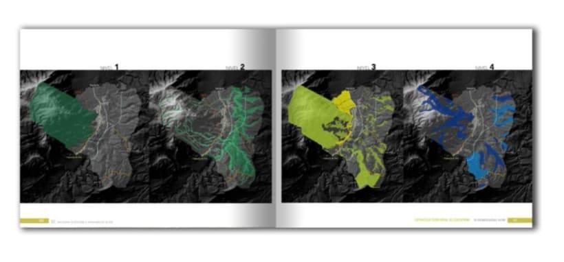 Diseño y maquetación del libro Estrategia Territorial de Cocentaina 2
