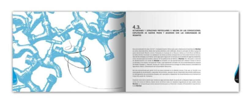 Diseño y maquetación del libro Plan Director de Recursos Hídricos de Monóvar  2