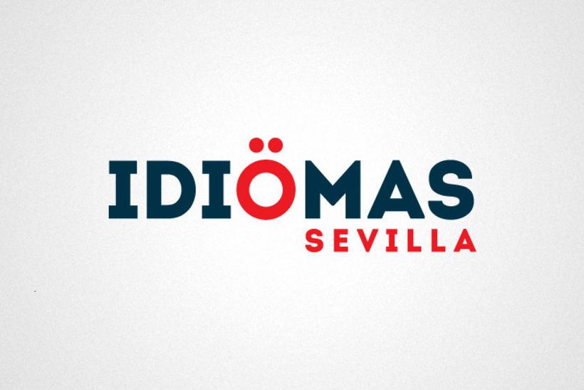 Identidad corporativa Idiomas Sevilla 1