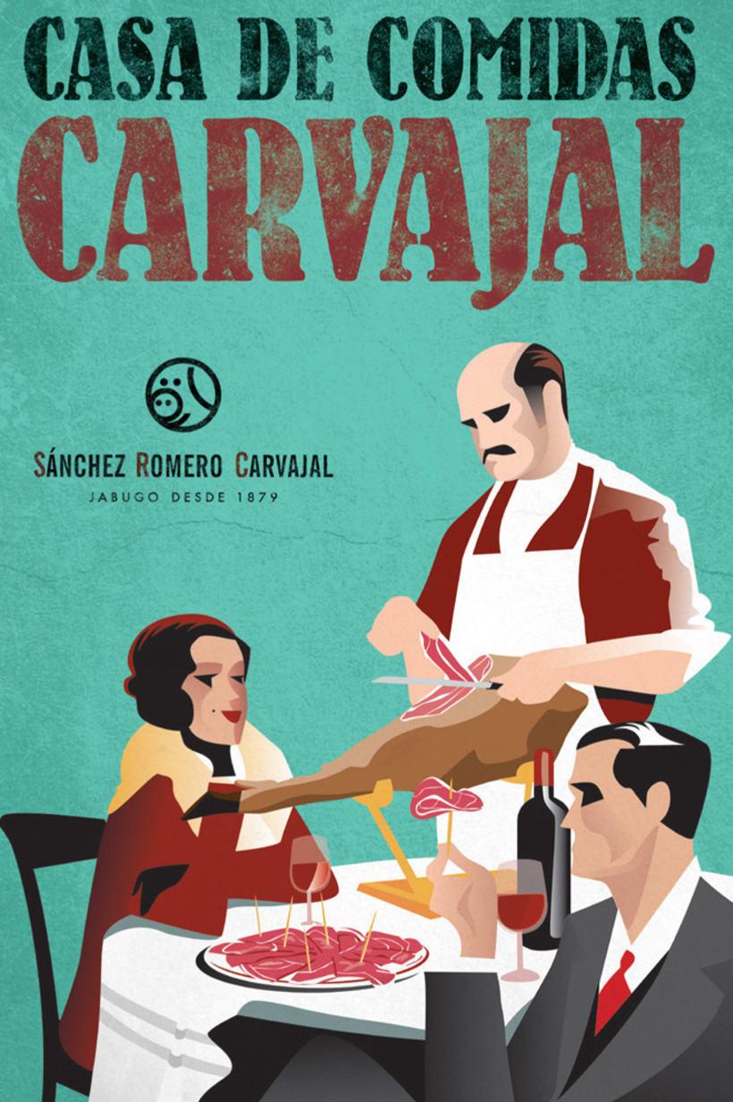 COLECCIÓN DE CARTELES VINTAGE PARA SANCHEZ ROMERO CARVAJAL 3