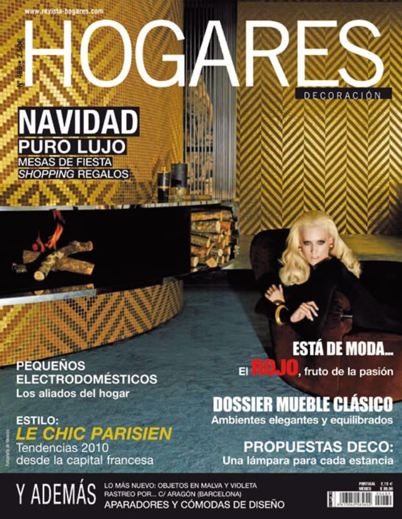 Maquetación de la revista Hogares 2